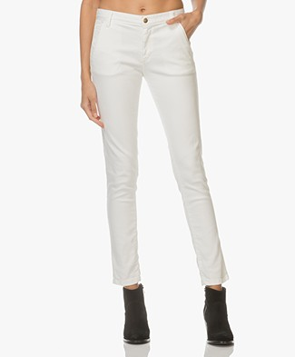 Ba&sh Chiapas Straight Jeans - Off-white