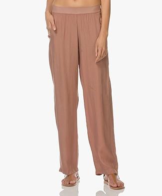 LaSalle Cupro Pants - Bisquit