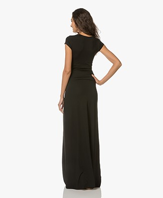 50d3a3770a87ba LaSalle Jersey Maxi Dress - Black