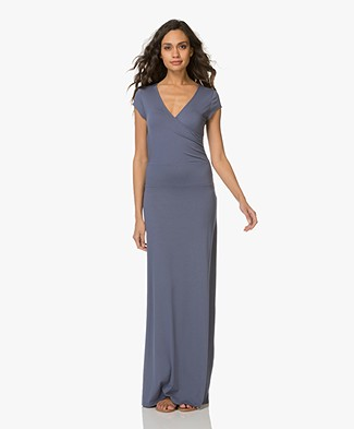 LaSalle Jersey Maxi Dress - Cobalt