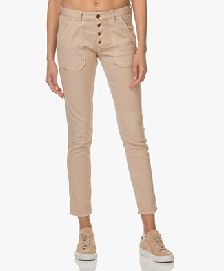 Ba&sh Sally Girlfriend Jeans - Beige