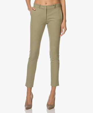 Joseph New Eliston Stretch Pantalon - Pea