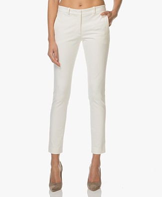 Joseph New Eliston Stretch Pantalon - Ecru