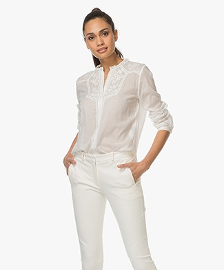 Vanessa Bruno Iranka Cotton Blouse - Ivory