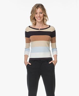 Josephine & Co Leontien Striped Sweater - Multi-color
