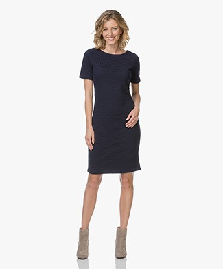 Josephine & Co Lina Short Sleeve Dress - Navy