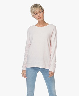 Denham Sweater Emmanuella Cotton Fleece - Sweet Pink