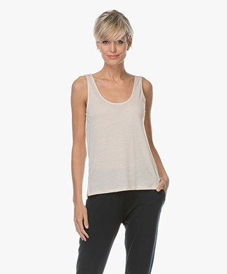 Filippa K Double Scoop Tank - Champagne