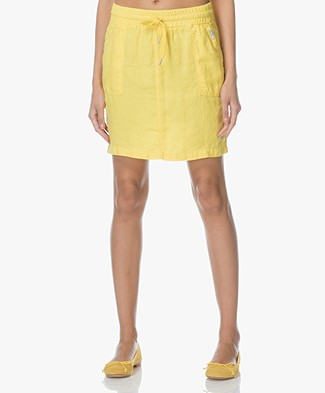Josephine & Co Lenneke Linen Skirt - Yellow
