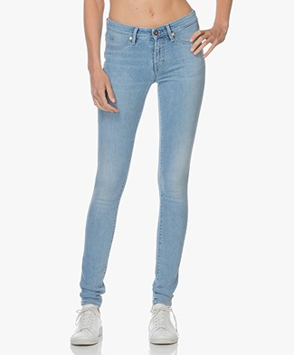 Denham Spray Super Tight Fit Jeans - Lichtblauw Gewassen