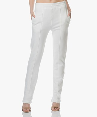 Joseph Jog Molleton French Terry Sweatpants - Off-white