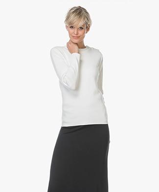 Petit Bateau Mythique Cotton Sweater - Ecru