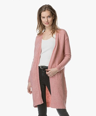 BY-BAR Nisa Spring Open Vest - Ash Rose