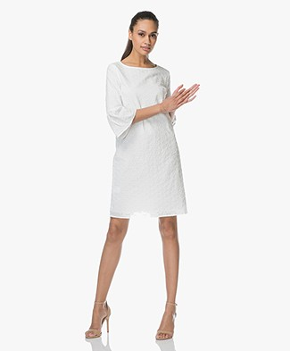 Josephine & Co Luca Dress in Broderie Anglaise - White