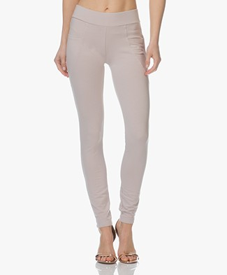 BRAEZ Liberta Jersey Slim-fit Broek - Earth