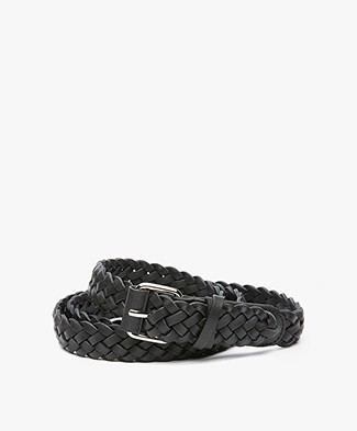 Filippa K Braided Hip Belt - Black