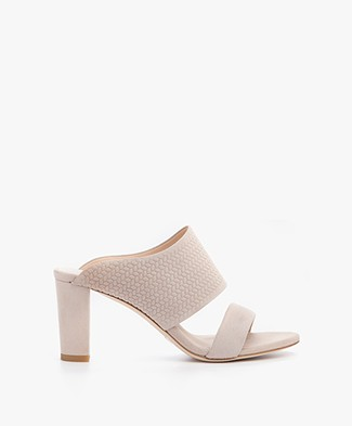 Filippa K Lara Mule in Suede - Braided Sand