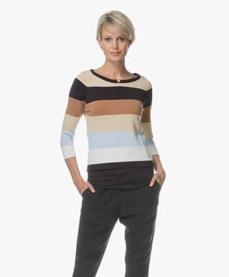 Josephine & Co Leontien Striped Sweater - Multi-color