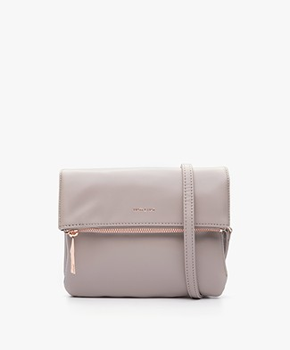 Matt & Nat Hiley Loom Fold-over Shoulder Bag - Fog