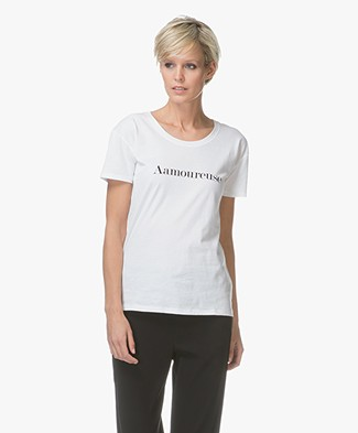 Vanessa Bruno Aamoureuse Cotton T-shirt - White