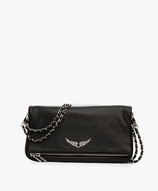 Zadig et Voltaire Rock Shoulder Bag/Clutch - Black