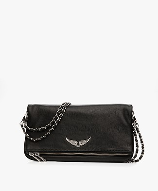 Zadig & Voltaire Rock Shoulder Bag/Clutch - Black