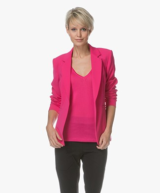 Drykorn Golders Tailored Blazer - Fuchsia Pink