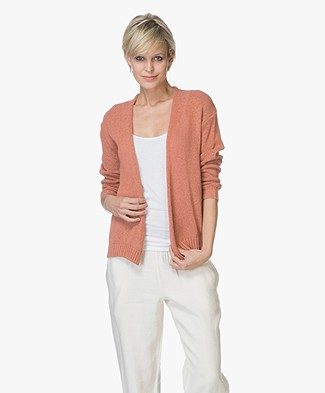Indi & Cold Open Cardigan in Cotton Blend - Teja