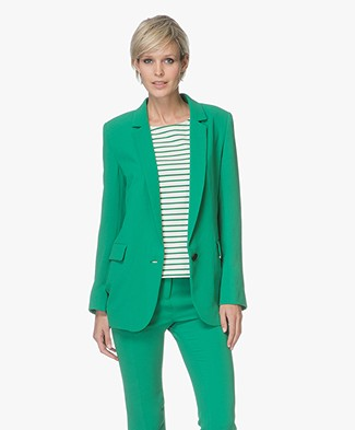 ba&sh Sailor Crêpe Blazer - Groen