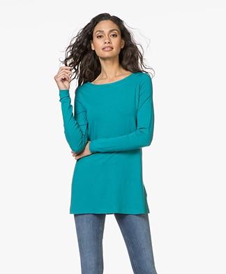 Kyra & Ko Rana Long Jersey Longsleeve T-shirt - Turquoise