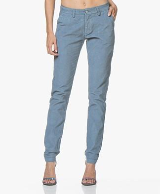 indi & cold Corduroy Pants - Azul Vintage