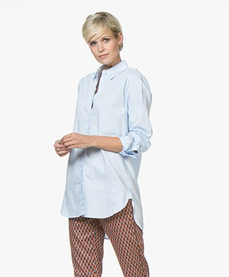 Josephine & Co Jenny Cotton Blouse - Sky Blue