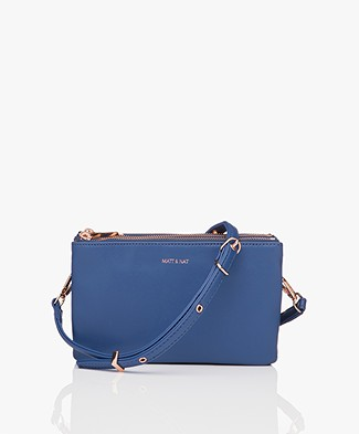 Matt & Nat Triplet Loom Cross-Body Bag - Mystic
