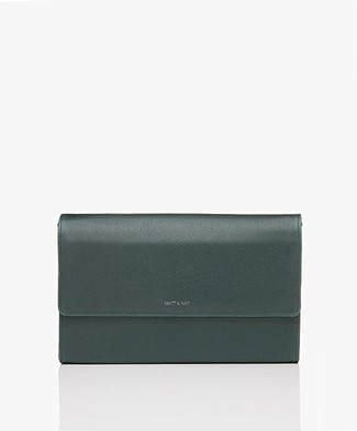 Matt & Nat Drew Vintage Cross-body Bag - Emerald