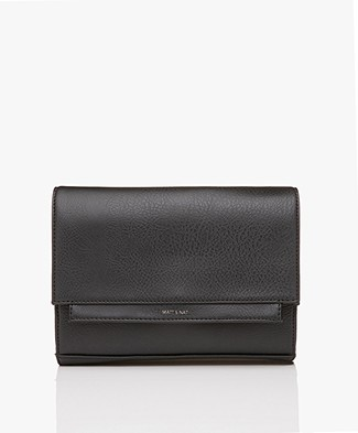 Matt & Nat Silvi Dwell Cross-body Bag/Clutch - Black