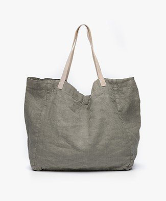 indi & cold Linen Shopper - Vison