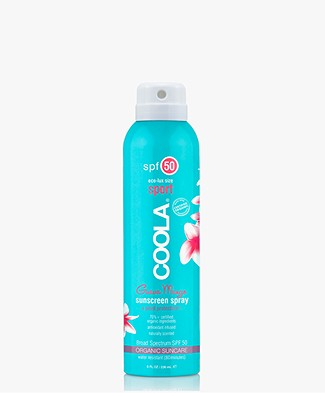 Coola Travel Spray SPF 50 - Guava Mango 100ml