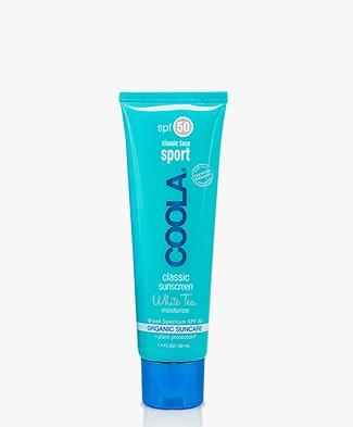 Coola Classic Suncreen Sport Face SPF 50 White Tea 50ml