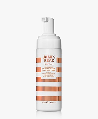 James Read Tan Fool Proof Bronzing Mousse Face & Body - Donker