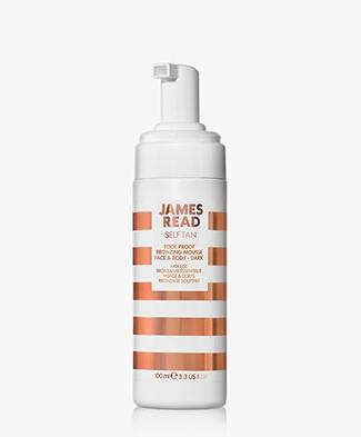 James Read Tan Fool Proof Bronzing Mousse Face & Body - Dark