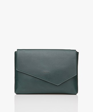 Matt & Nat Riya Vintage Clutch/Shoulder Bag - Emerald