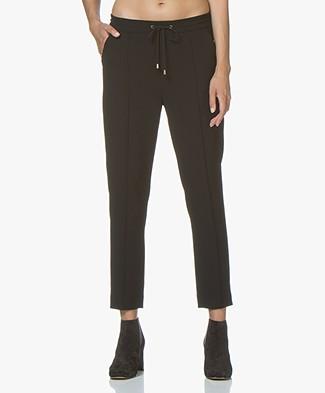 Filippa K Fiona Drapey Pants - Black
