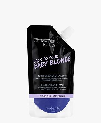 Christophe Robin Baby Blonde Shade Variation Mask Travel Size - 75ml