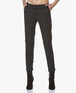 La Petite Francaise Pareil Viscose Blend Pants - Black