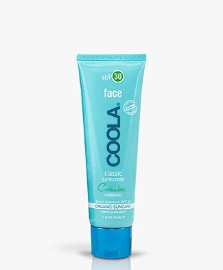 COOLA Classic Face Sunscreen SPF 30 - Cucumber