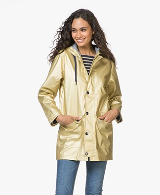 Petit Bateau Tylorette Iconic Raincoat - Gold