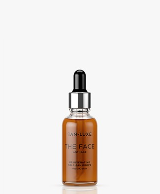 TAN-LUXE The Face Anti-Age Self-Tan Drops - Medium/Dark 30ml