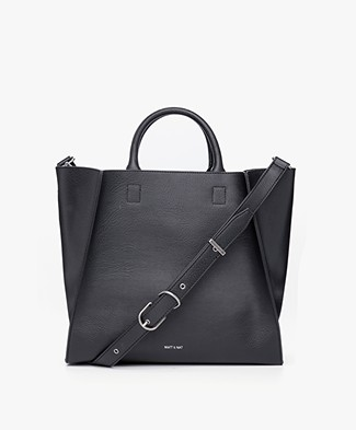 Matt & Nat Loyal Dwell Tote - Black/Ink