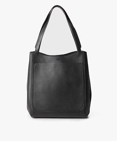 Filippa K - Filippa K Shelby Bucket Leather Bag - Zwart