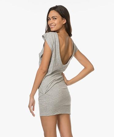 Light Grey Jersey Dresses